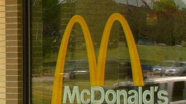 McDonald's Logo on window Des Moines