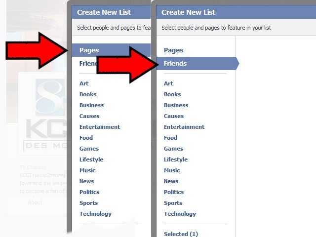 Now select your favorite fan pages and people that you always want to see.