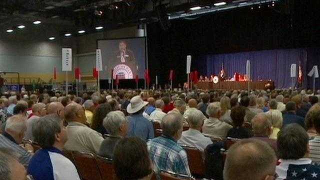 Tension brews at GOP convention.