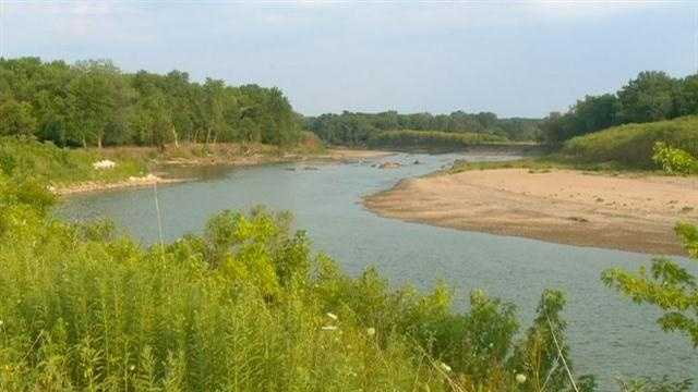 Drought dries up Iowa rivers