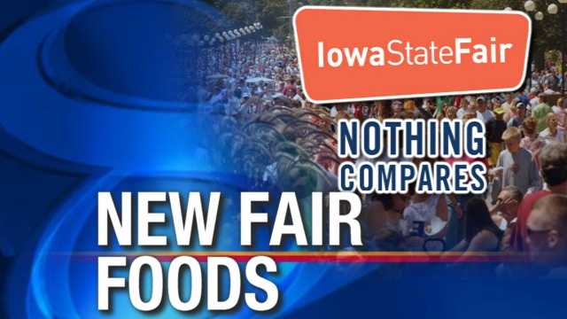State fair foods graphic