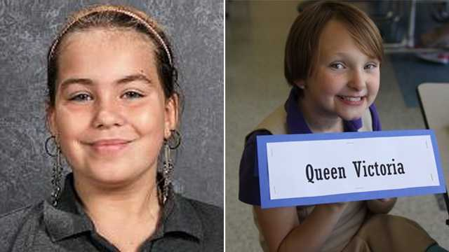 Police in Evansdale are searching for Lyrica Morrisey, (left), and Elizabeth Collins, (right.)