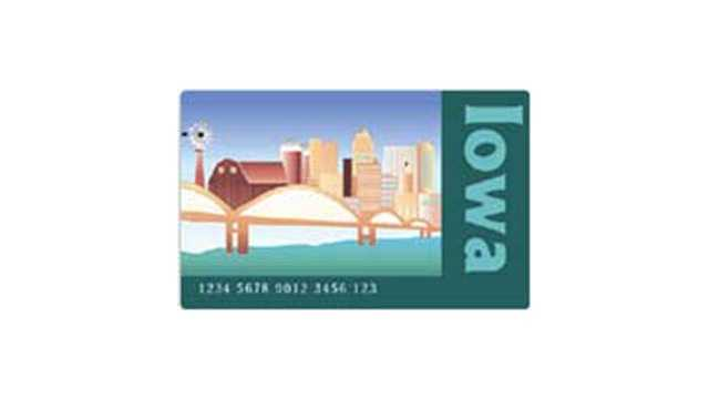 Iowa ebt card