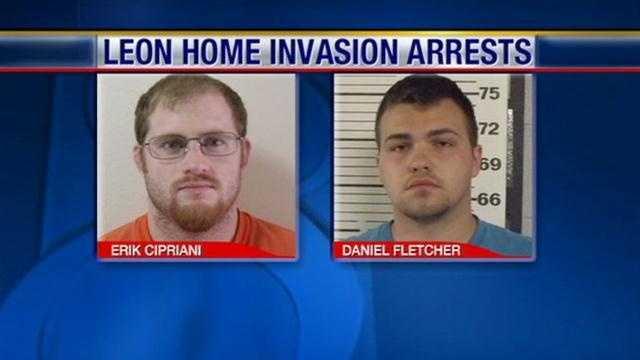 Leon Home invasion arrests