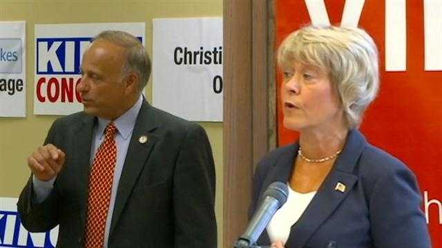 There will be no debate in Ames between Congressman Steve King and Christie Vilsack.