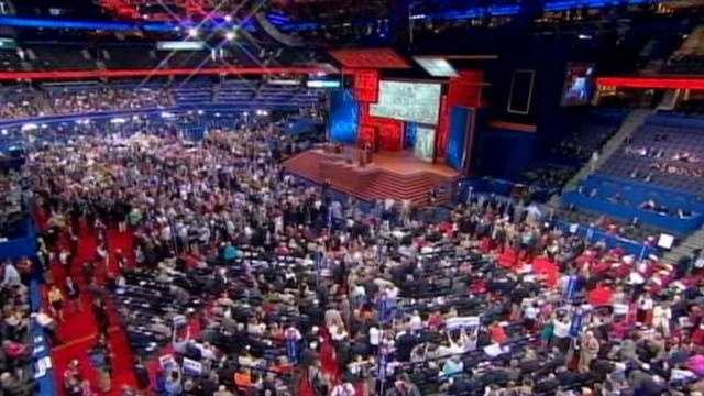 Iowa has 28 delegates.  Some 22 votes went to Ron Paul and six votes for Romney.