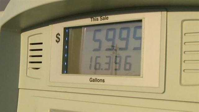 Iowans are experiencing pain at the pump before a long holiday weekend.