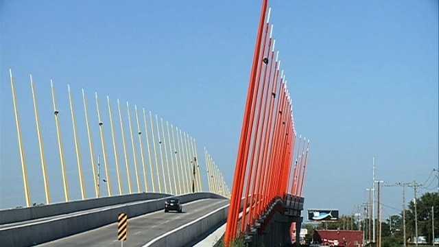 Iowa bridge gateway council bluffs