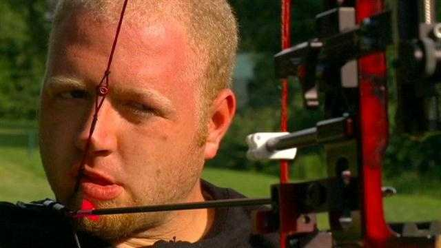 Matt Stutzman, the armless archer from Iowa, is back home with stories to tell from his medal-winning performance at the Paralympic Games in London.