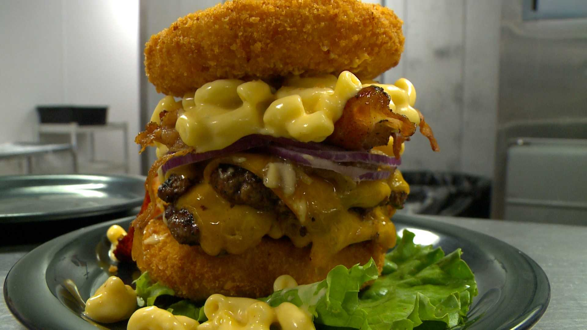 'The Walking Ched' from Zombie Burger in Des Moines.