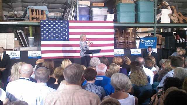 Ann Romney in iowa
