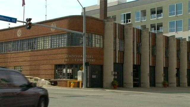 Old fire station needs fire safety equipment