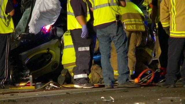 A wrong-way head-on crash on Interstae-80-35 that killed two drivers is having a lingering effect on rescue crews.