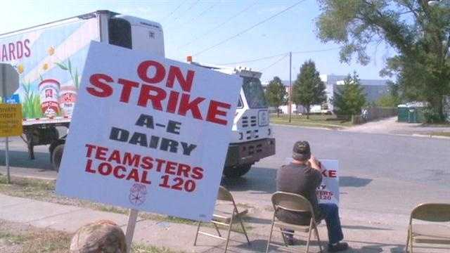 Anderson Erickson Dairy and its workers' union reached a tentative labor agreement Wednesday night.