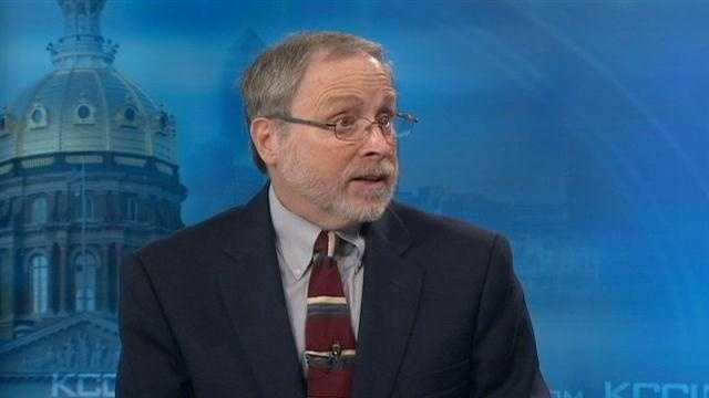KCCI political analyst Dennis Goldford offers his take on the presidential debate.