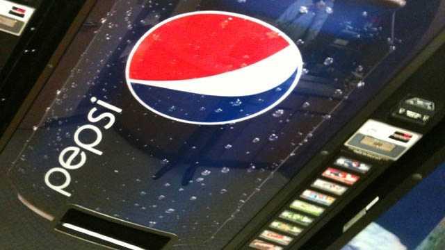 Pop soda machine