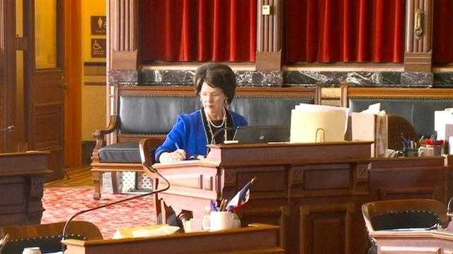 Iowa State Senator Pat Ward died Monday morning after a battle with cancer.