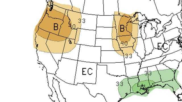 NOAA winter prediction