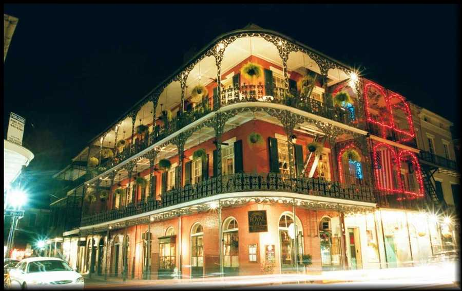 1. New Orleans, Louisiana: According to TopTenz.net, New Orleans, has truly embraced its reputation as a center of all things paranormal. The city is full of haunted mansions, taverns, and graveyards. You can't go far without hearing stories of cursed pirate ships, Civil War-era spirits, and voodoo hexes.