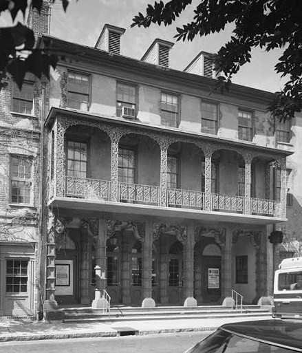 6. Charleston, South Carolina: Built in 1809, The Dock Street Theater is said to be the home of two spirits. The first is Nettie, a poor prostitute who was killed near the theater after being struck by lightning. Toptenz.net reports the other is the ghost of Junius Brutus Booth, an actor who is more famous today for being the father of John Wilkes Boothe, the man who killed Abraham Lincoln.