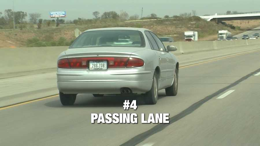 """""""You need to get over to the right and let people pass you,"""" said Bill Brunia. Brunia is frustrated when drivers are hogging the left lane, or passing lane, as it's called. Those drivers often block faster drivers from getting by. """"That's the passing lane, and it's supposed to be left open for passing,"""" said Brunia. But Iowa law does not see it that way. """"People call it the fast lane, but there is no law stating that you have to move over for a vehicle. If you're driving in that left lane, and you're driving the posted speed limit, you can stay in that left lane as long as you want,"""" said Sgt. Scott Bright. Bright says drivers should move to the right lanes as a courtesy, especially if they're going slower than the speed limit."""