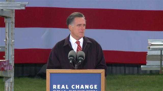Mitt Romney in Iowa, 2012
