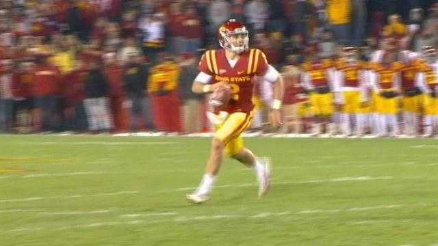 Jantz throws 5 TD passes as Iowa State blasts Baylor