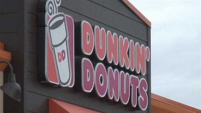 The new Dunkin' Donuts is about to open its doors.