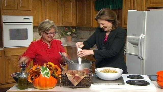 Chef Terrie recipe:  Autumn Pasta Sauced
