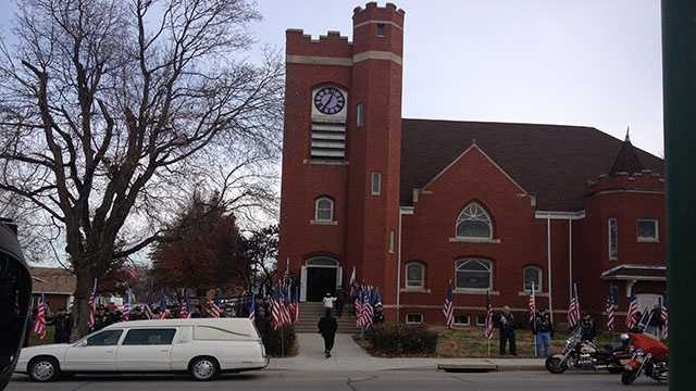 Buttry funeral church