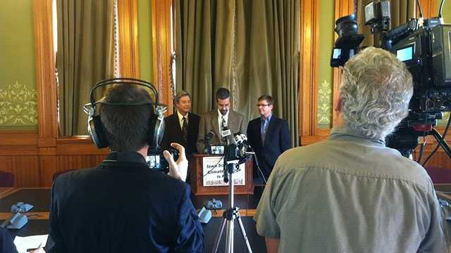 Drought news conference