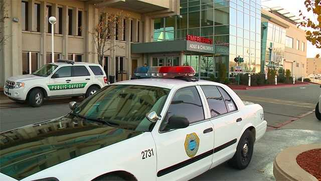 Mercy medical center ER PD cars