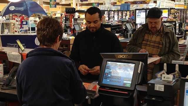Powerball customers