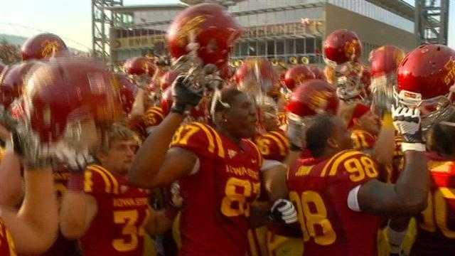 Iowa State will face Tulsa Dec. 31 in Memphis
