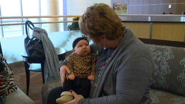 New moms are being offered extra special care at Mercy West Lakes, the first hospital in the state to launch a volunteer program to help mothers during labor.