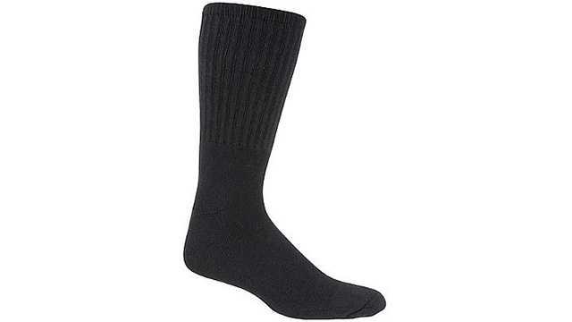 generic black sock