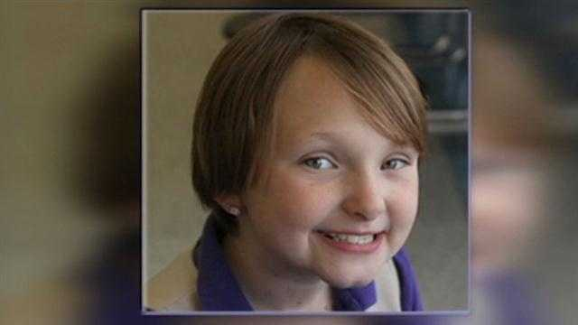 An Iowa family talks about losing their daughter during a memorial Thursday in Evansdale.