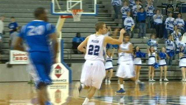Micah Mason had a career-high 19 points and 6 assists as Drake blasted Eastern Illinois, 74-56