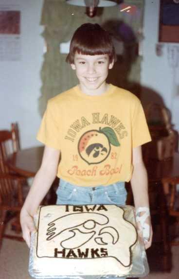 Christopher's 10th birthday - February 1982