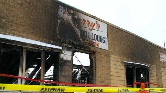 A well-known Jefferson restaurant is destroyed after a fire tore through it early Sunday morning.