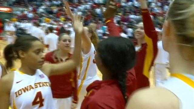 A strong second half gave ISU a 67-52 win over visiting texas Tech.
