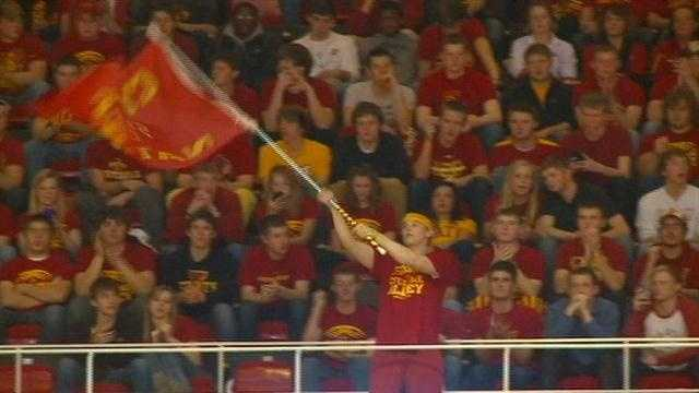Iowa State pulled away late behind a steallar effort from senior Will Clyburn
