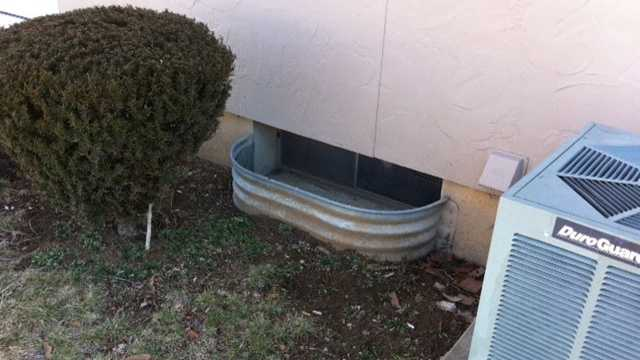 Teen chained basement
