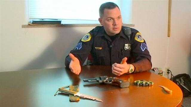 Police said dangerous weapons are popping up in central Iowa schools every week.