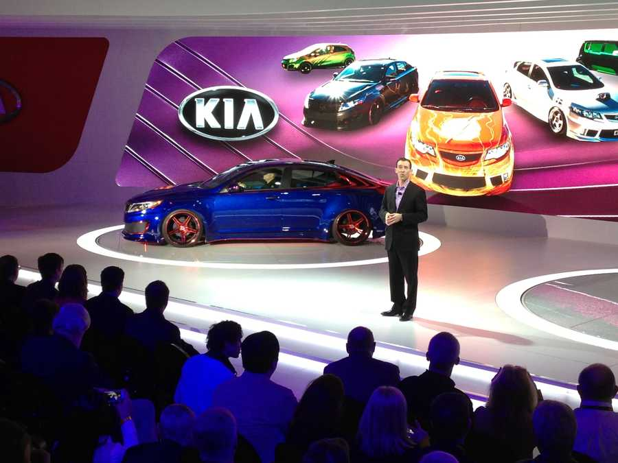 Kia calls this the 'Optima Super Man'.