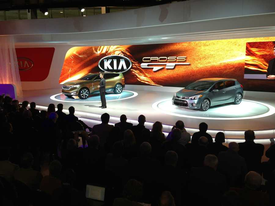 The Kia Cross GT and Forte.