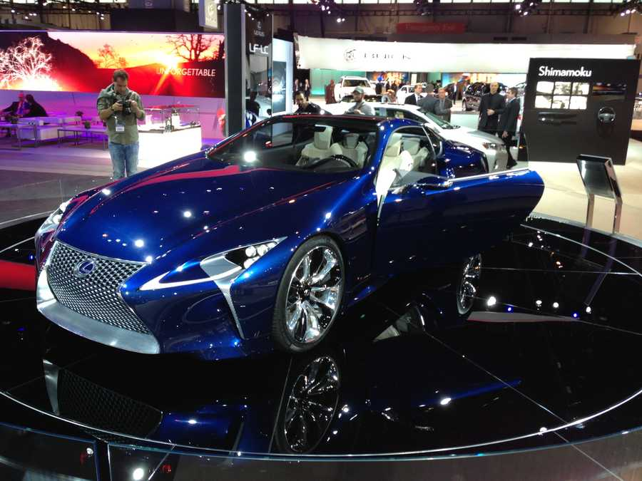 A concept from Lexus.