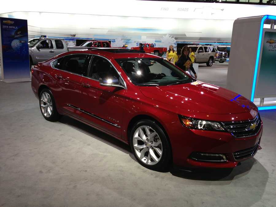 A new look for the Chevy Impala.