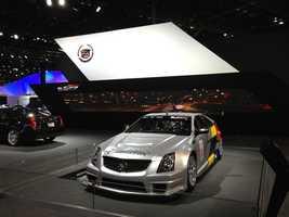 The Cadillac display.