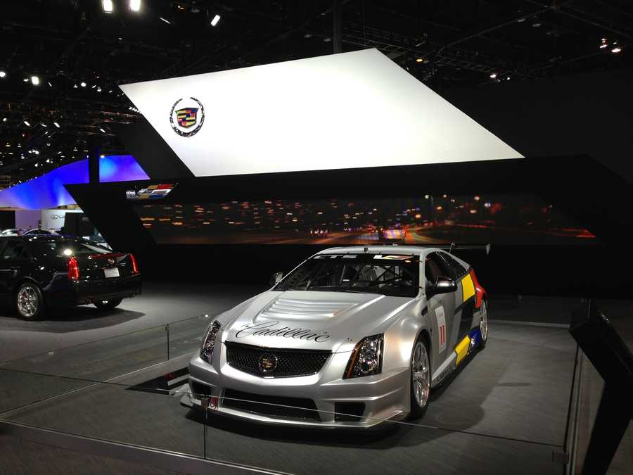 The Cadillac display.